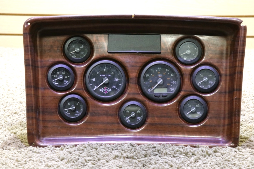 USED MOTORHOME SPARTAN DASH CLUSTER RV PARTS FOR SALE RV Components