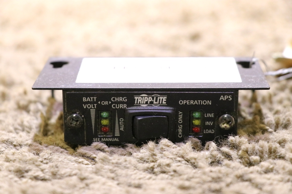 USED RV TRIPP-LITE APS INVERTER CHARGER REMOTE MOTORHOME PARTS FOR SALE RV Components