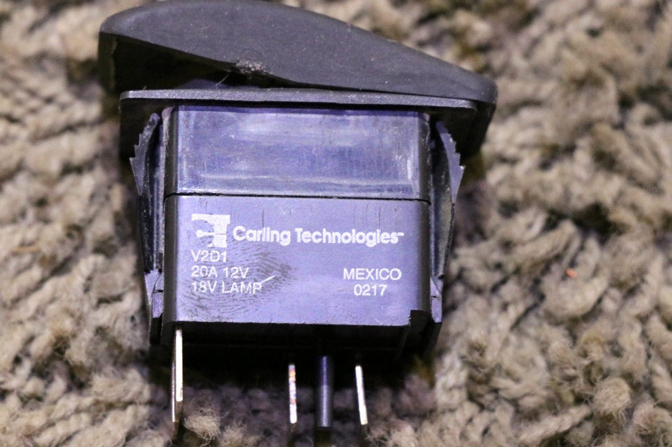 USED MOTORHOME BAT BOOST RV DASH SWITCH FOR SALE RV Components