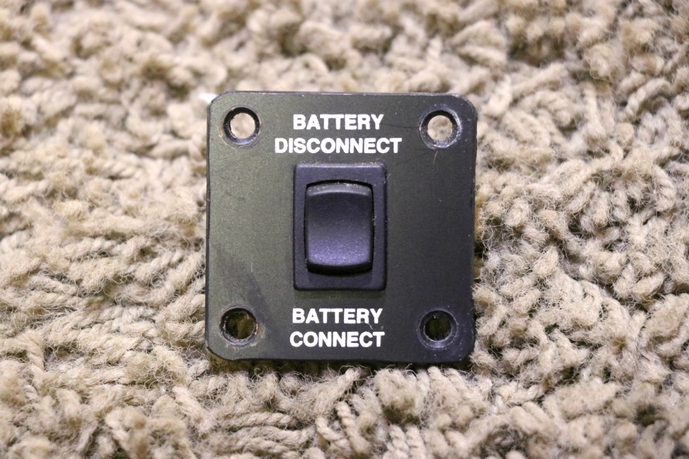 USED RV BATTERY DISCONNECT / CONNECT SWITCH MOTORHOME PARTS FOR SALE RV Components