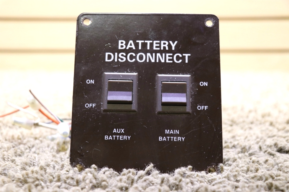USED MOTORHOME BATTERY DISCONNECT SWITCHES RV PARTS FOR SALE RV Components