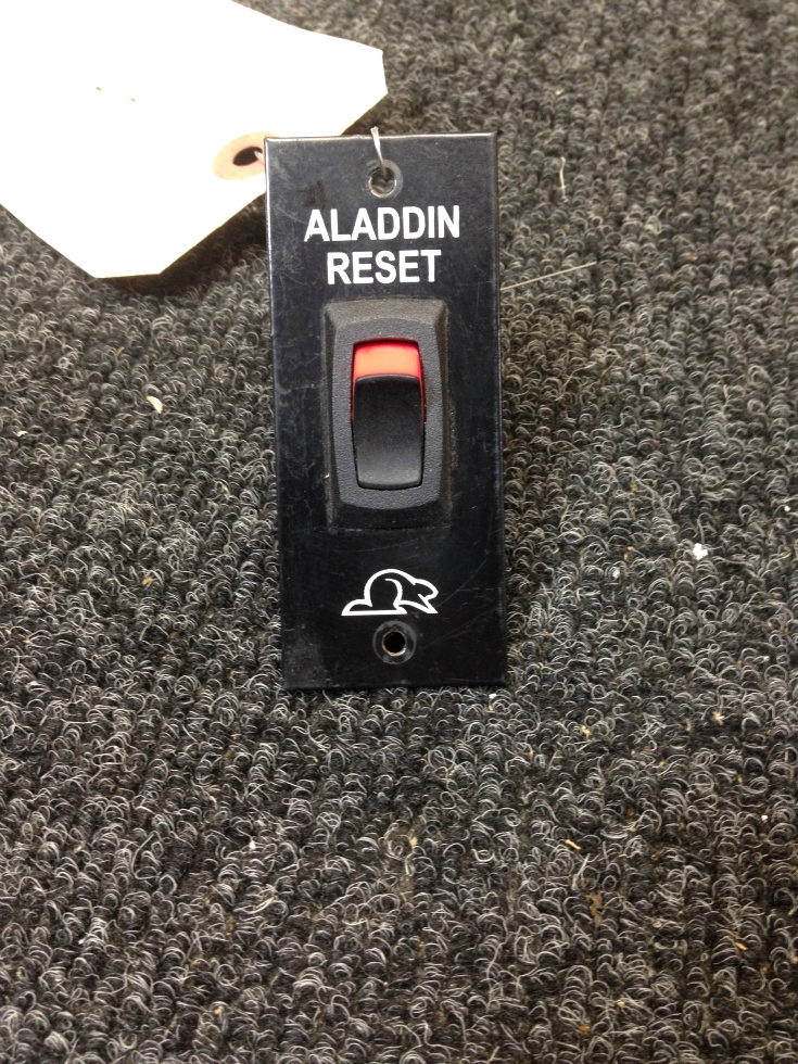 USED RV/MOTORHOME RV WALL MOUNT BEAVER ALADDIN RESET SWITCH PANEL RV Components
