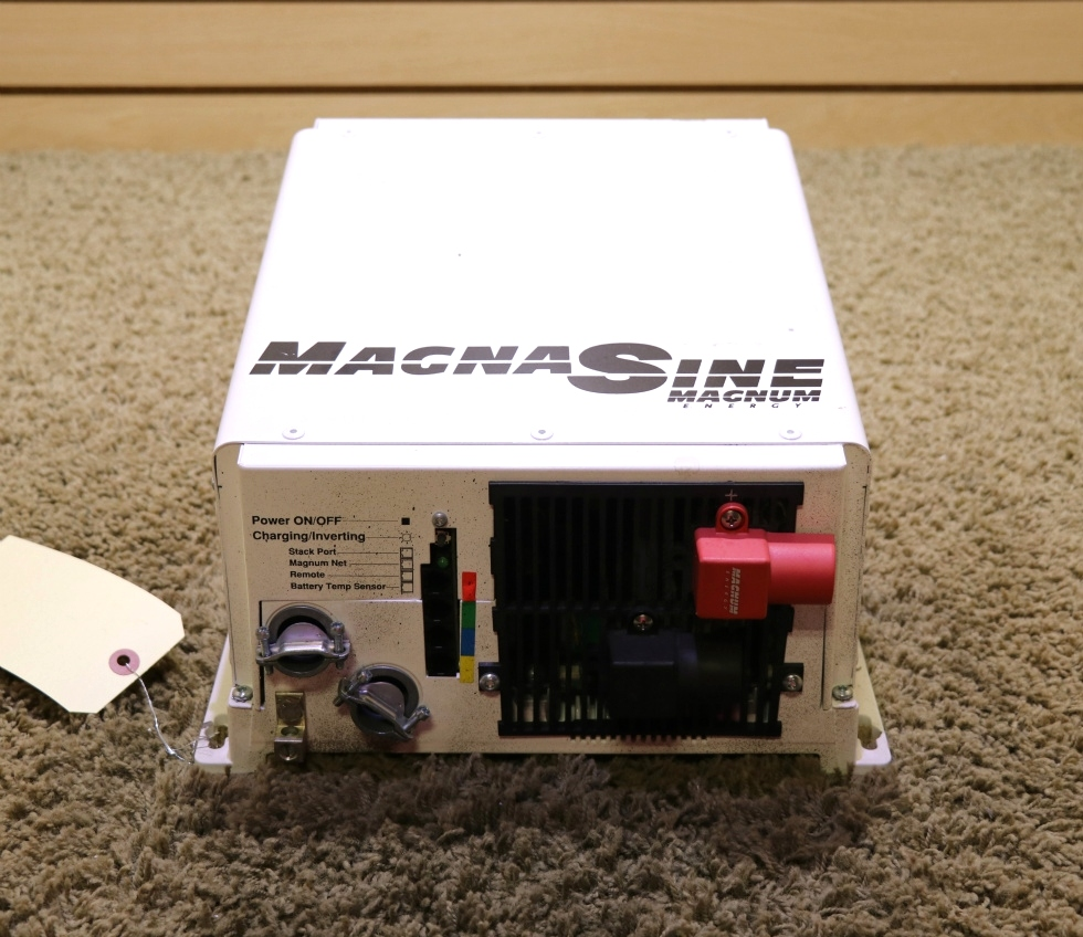 USED MOTORHOME MAGNA SINE MS2812 MAGNUM ENERGY INVERTER CHARGER RV PARTS FOR SALE RV Components