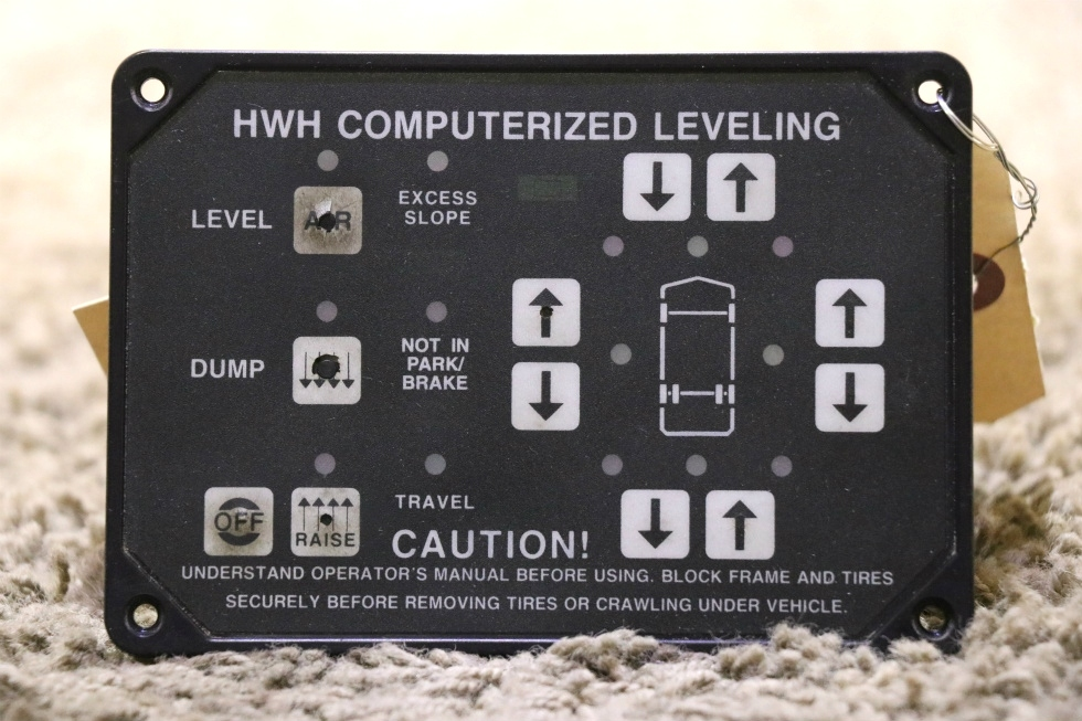 AP6975 HWH COMPUTERIZED LEVELING TOUCH PAD USED RV PARTS FOR SALE RV Components