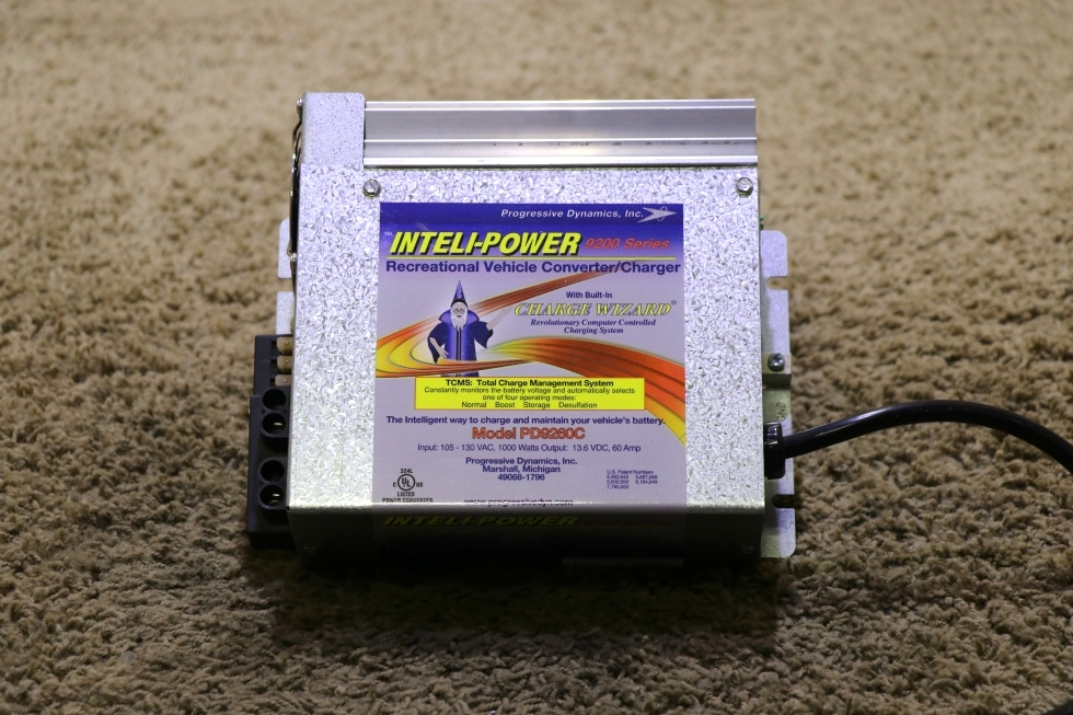 INTELLI-POWER 9200 SERIES POWER CONVERTER MODEL: PD9260C MOTORHOME PARTS FOR SALE RV Components