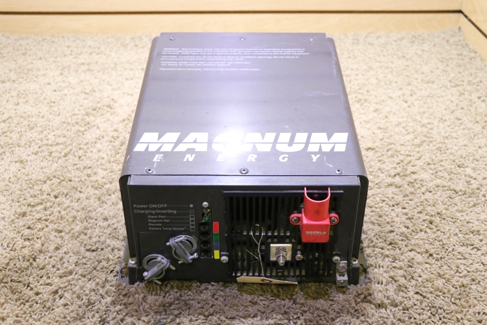 USED MOTORHOME ME2012 MAGNUM ENERGY INVERTER CHARGER RV PARTS FOR SALE RV Components