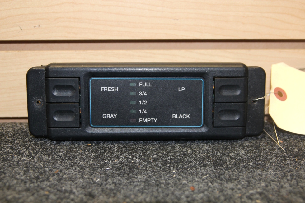 USED RV/MOTORHOME INTELLITEC LEVEL MONITOR PANEL PN: 00-00575-000 RV Components
