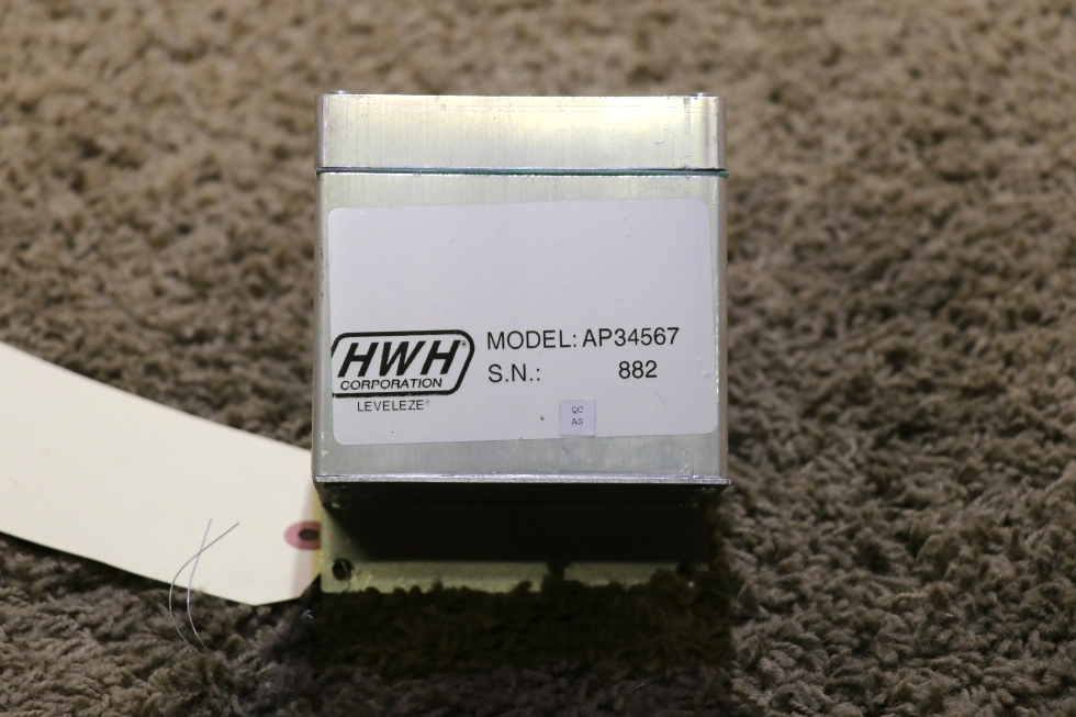 USED AP34567 HWH LEVELING CONTROL BOX RV PARTS FOR SALE RV Components