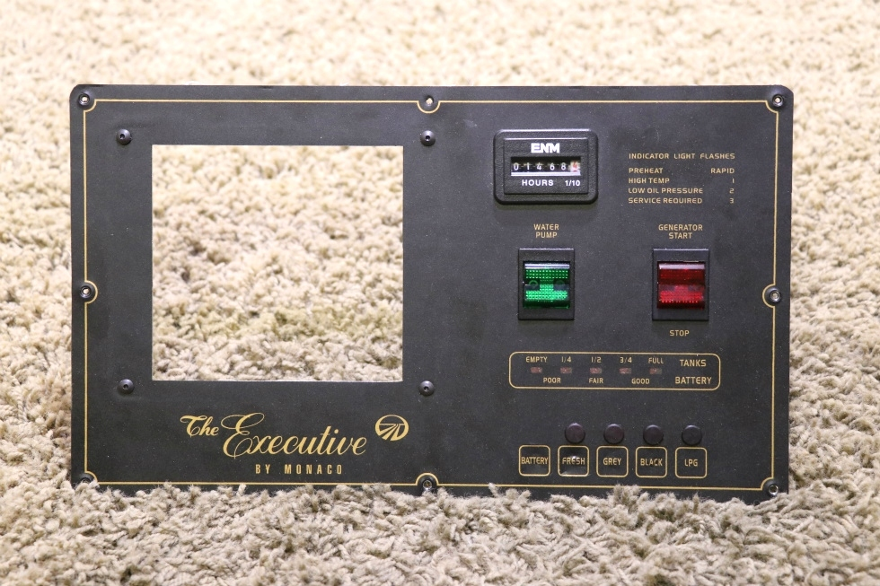 USED THE EXECUTIVE BY MONACO MONITOR PANEL RV PARTS FOR SALE RV Components