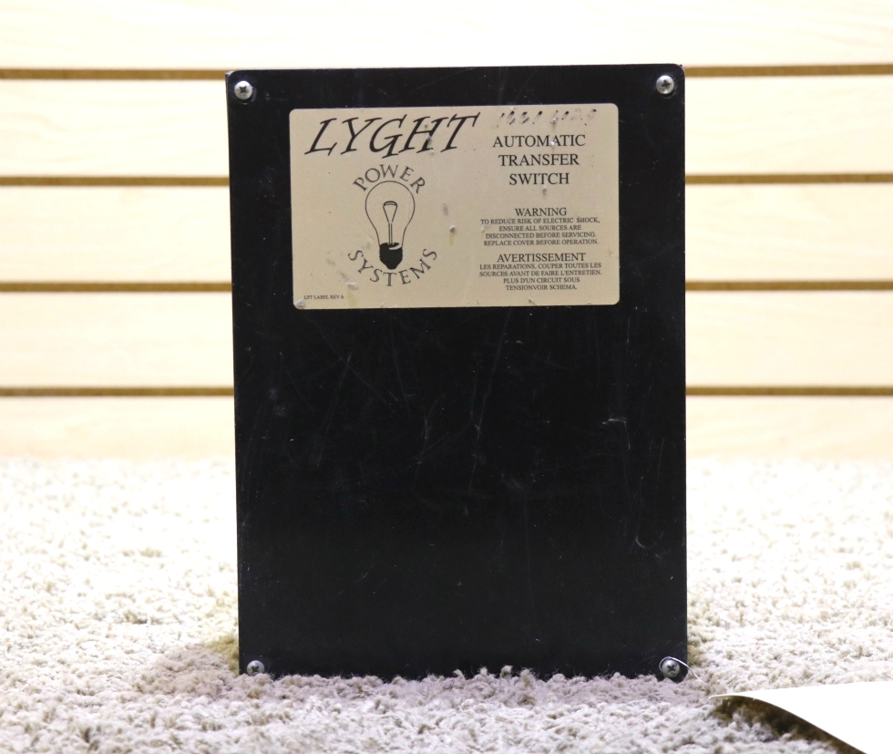 USED LPT50BRD LYGHT POWER SYSTEMS AUTOMATIC TRANSFER SWITCH MOTORHOME PARTS FOR SALE RV Components