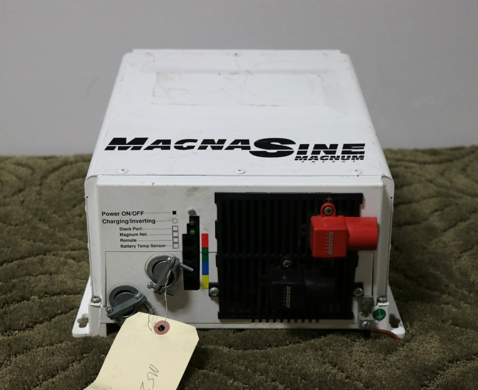 USED MAGNA SINE MS2812 MAGNUM ENERGY INVERTER/CHARGER RV PARTS FOR SALE RV Components