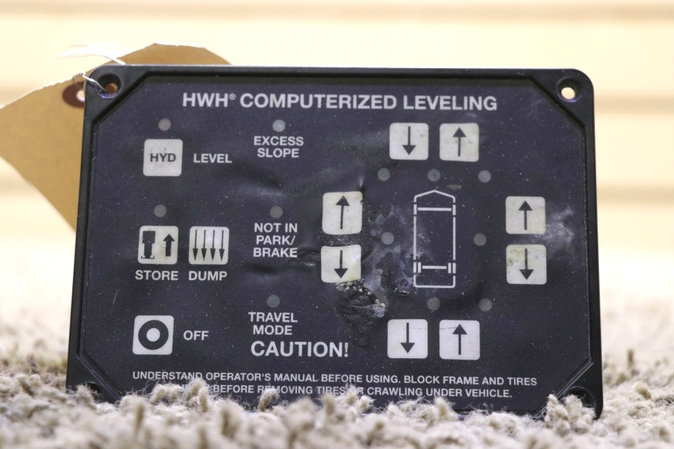 USED RV AP25650 HWH COMPUTERIZED LEVELING TOUCH PAD FOR SALE RV Components