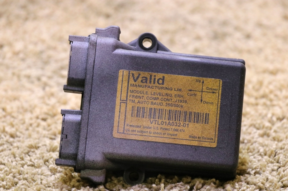 USED RV VTL01A032-01 VALID LEVELING ERH MODULE FOR SALE RV Components