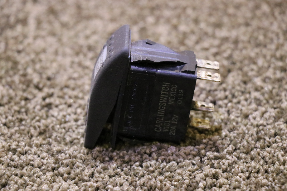 USED MOTORHOME V1D1 BLOCK HEAT DASH SWITCH FOR SALE RV Components