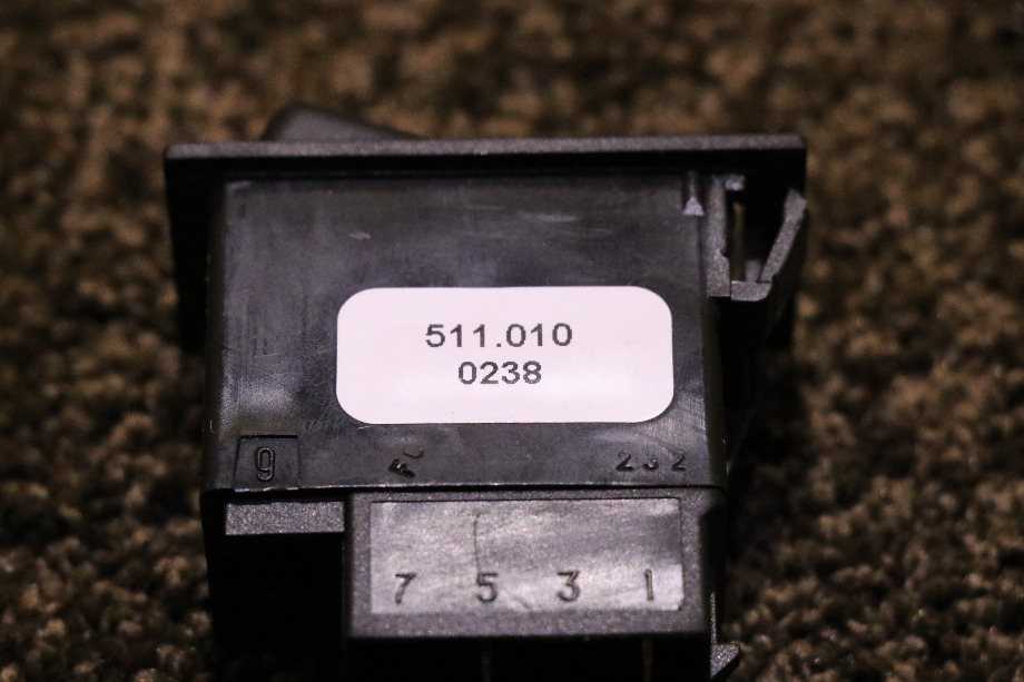 USED MOTORHOME AIR DUMP DASH SWITCH FOR SALE RV Components