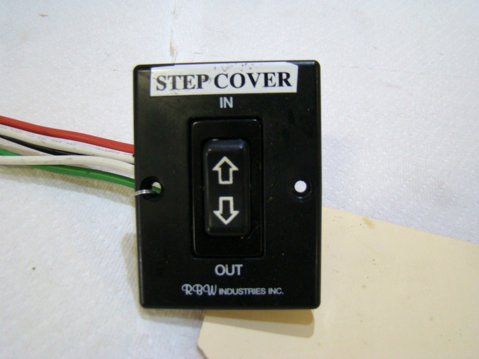 Rv Components Used Rbw Industries Step In Out Switch Panel