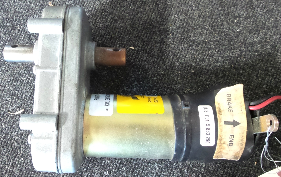 USED POWER GEAR SLIDE MOTOR P/N 522176 FOR SALE RV Components