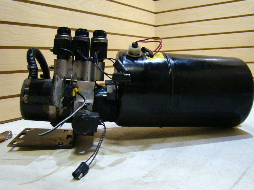 USED POWER GEAR LEVELING SYSTEM PUMP FOR SALE  **OUT OF STOCK** RV Components