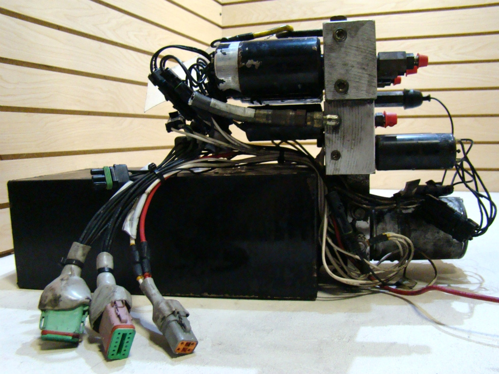 USED HWH HYDRAULIC LEVELING PUMP ASSEMBLY FOR SALE  **OUT OF STOCK** RV Components