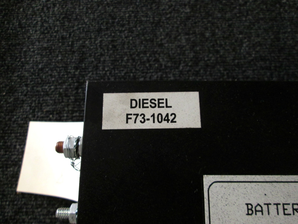 USED RV/MOTORHOME BATTERY CONTROL CENTER DIESEL PN: F73-1042  **OUT OF STOCK** RV Components
