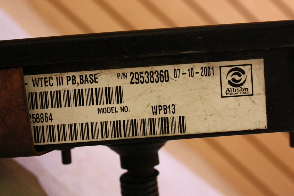USED RV/MOTORHOME ALLISON SHIFT SELECTOR FOR SALE RV Components