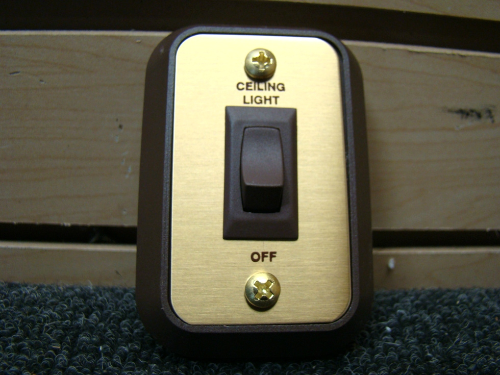NEW RV/MOTORHOMESIGMA CEILING LIGHT ON/OFF SWITCH  RV Components