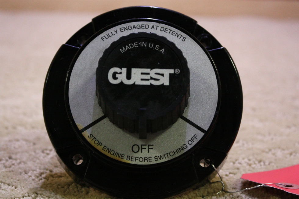 USED GUEST BATTERY SWITCH FOR SALE RV Components