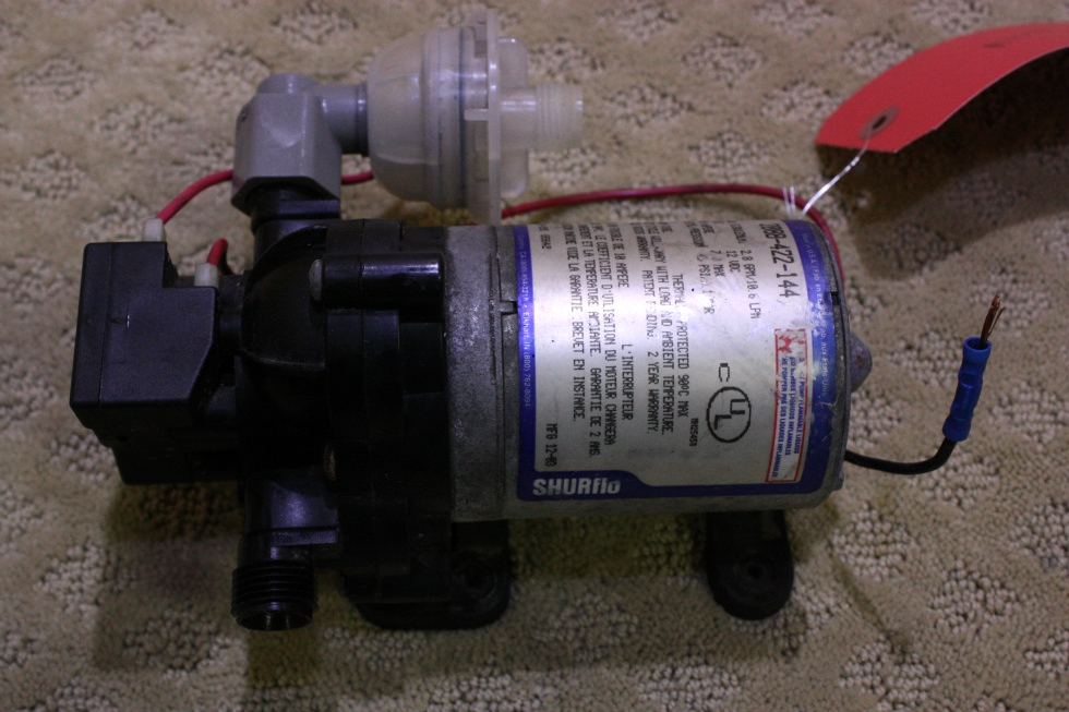 USED SHURFLO WATER PUMP 2088-422-144 FOR SALE RV Components