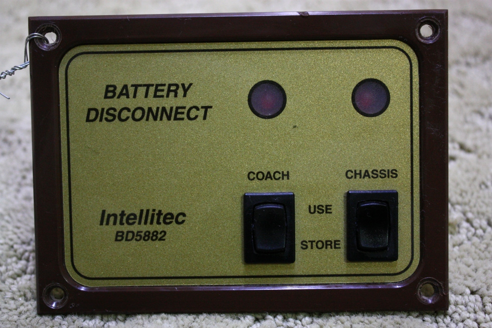USED INTELLITEC BATTERY DISCONNECT SWITCH BD5882 FOR SALE *OUT OF STOCK* RV Components