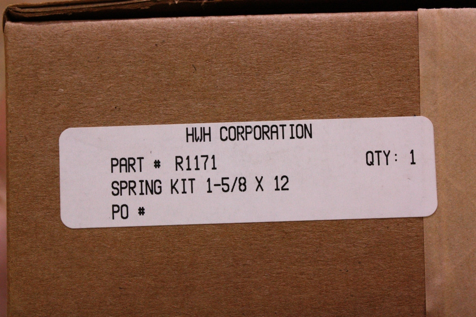 HWH SPRING KIT R1171 FOR SALE  RV Components
