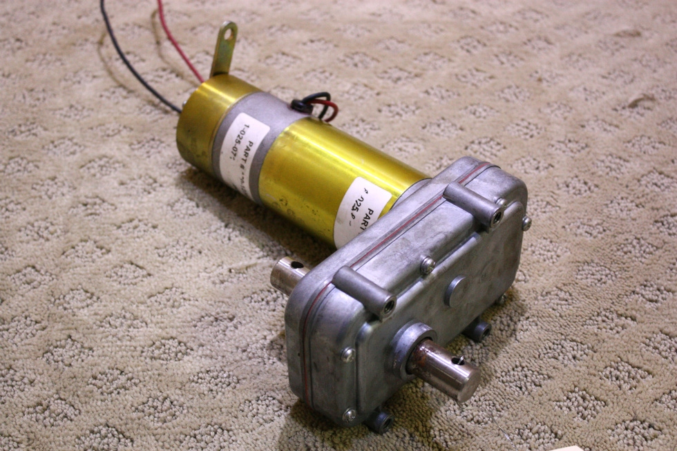 USED POWER GEAR SLIDE MOTOR 524246 FOR SALE RV Components