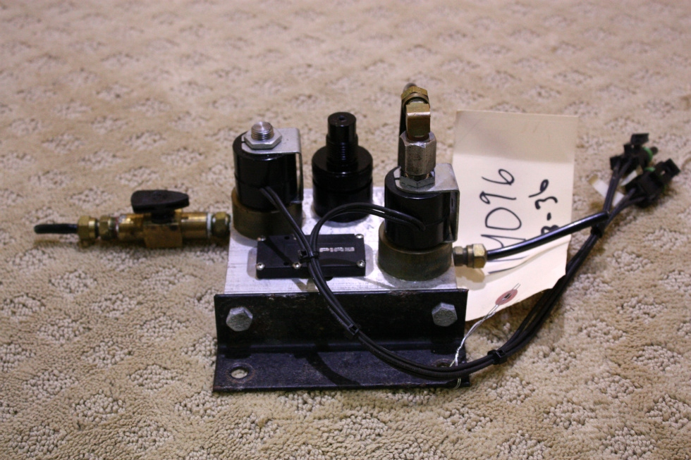 USED HWH MANIFOLD AIR SEAL -2 VALVE FOR SALE RV Components