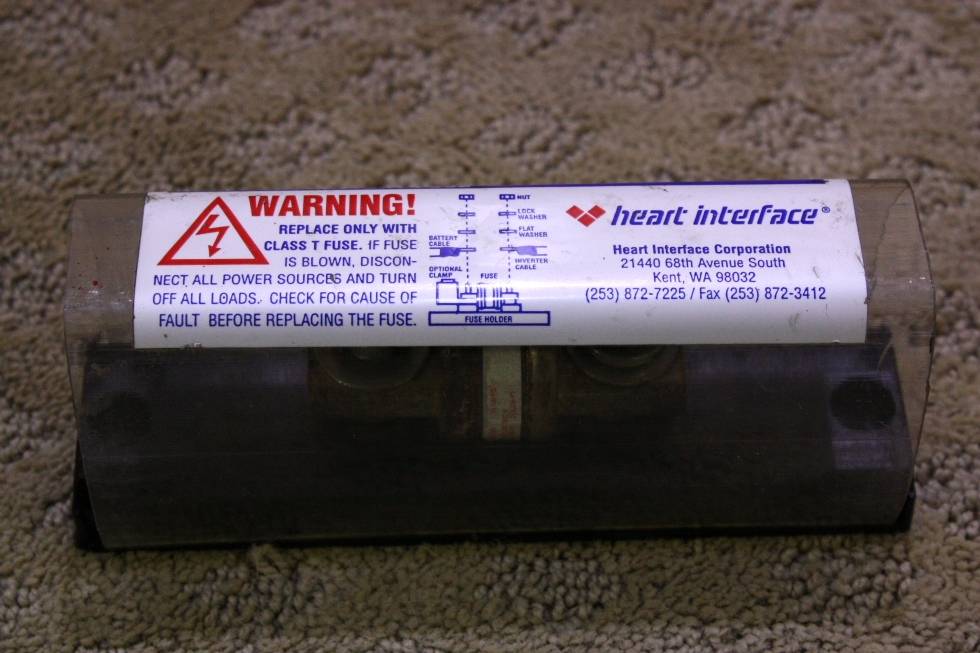USED HEART INTERFACE INVERTER BATTERY FUSE A3T300 FOR SALE RV Components
