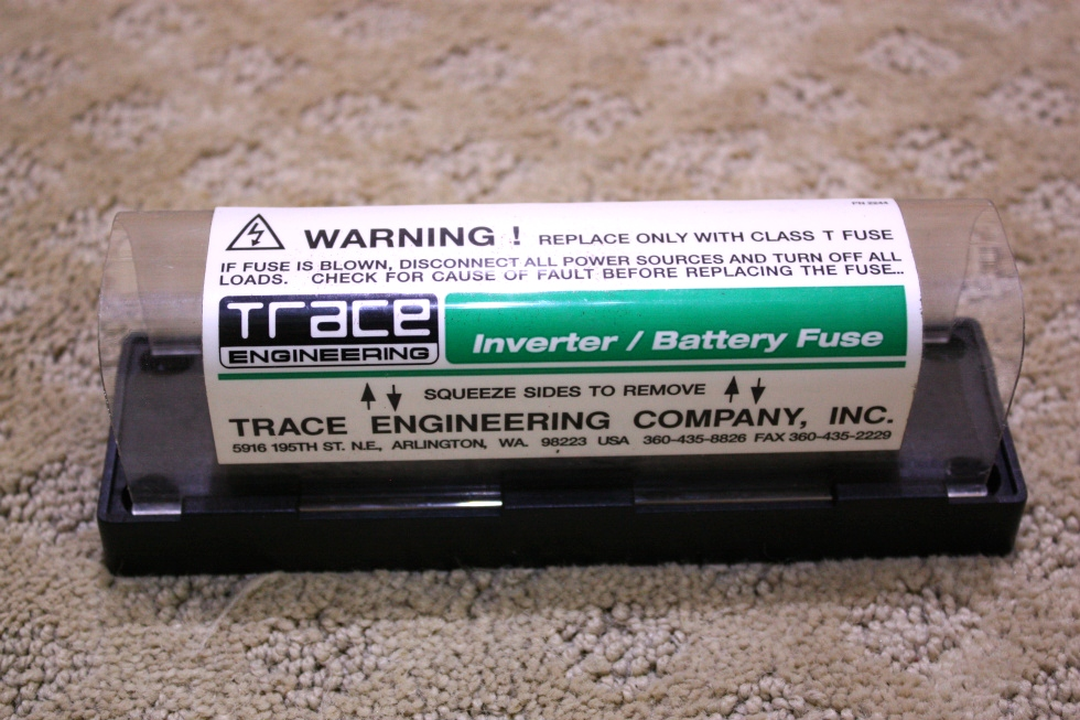 USED TRACE INVERTER/BATTERY FUSE FOR SALE RV Components