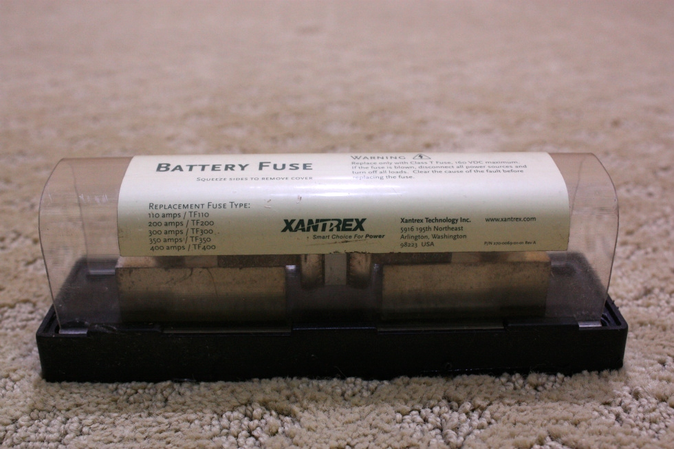 USED XANTREX INVERTER/BATTERY FUSE FOR SALE RV Components
