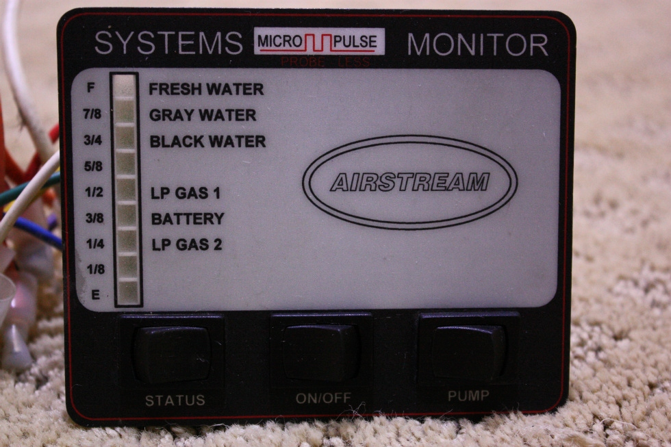 USED AIRSTREAM SYSTEMS MONITOR FOR SALE RV Components