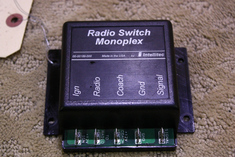 USED RADIO SWITCH MONOPLEX 00-00189-000 FOR SALE RV Components