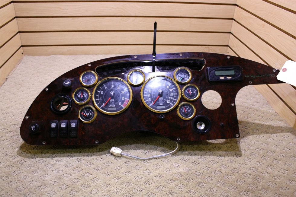 USED MONACO SIGNATURE DASH CLUSTER AND GAUGES FOR SALE RV Components