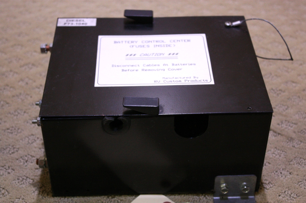 USED BATTERY CONTROL CENTER DIESEL F73-1040 FOR SALE RV Components