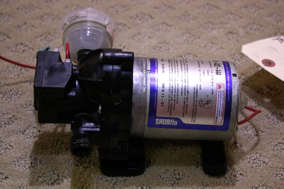 USED SHURFLO 2088-422-444 WATER PUMP FOR SALE *OUT OF STOCK* RV Components