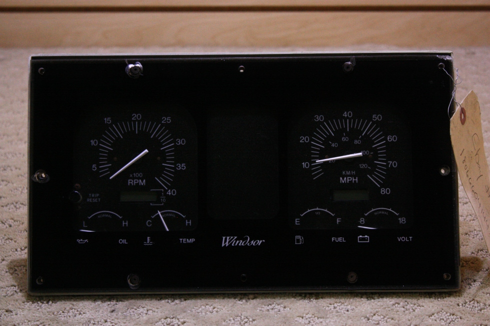 USED WINDSOR DASH CLUSTER FOR SALE RV Components