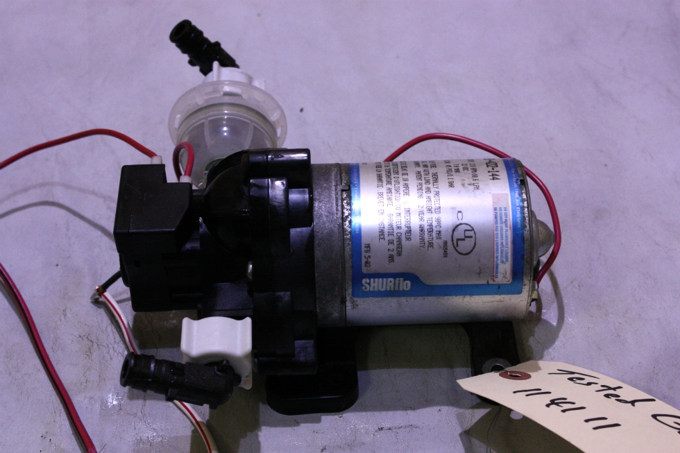USED SHURflo WATER PUMP 2088-422-144 FOR SALE  **OUT OF STOCK** RV Components