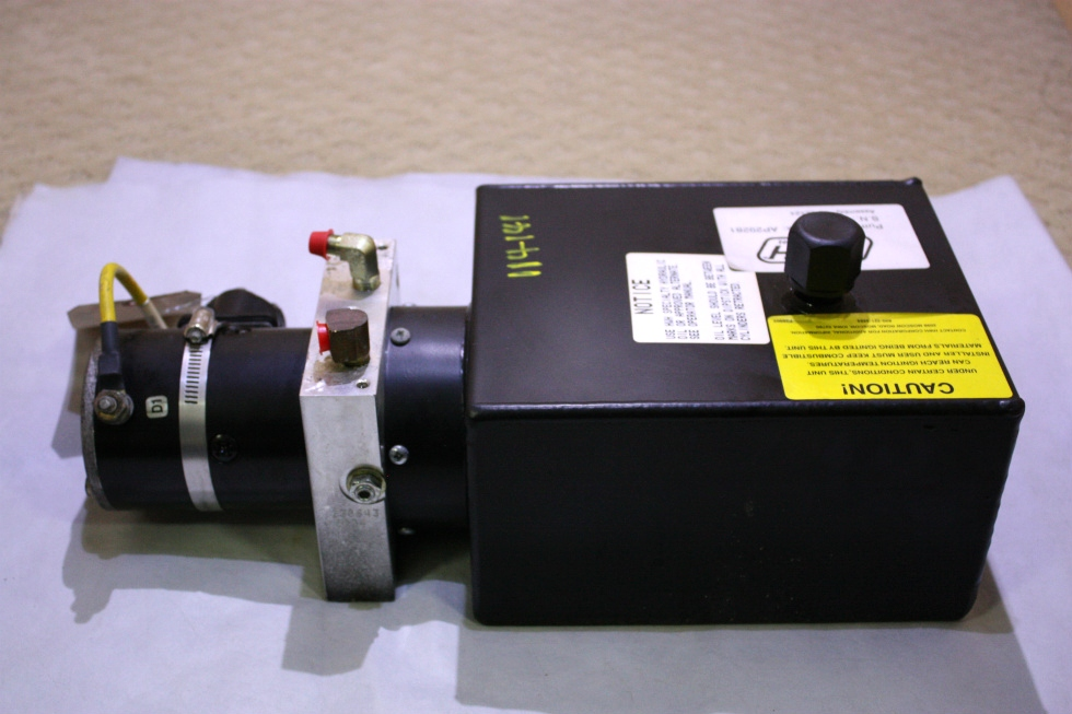 USED RV/MOTORHOME HWH HYDRAULIC PUMP AP29281 FOR SALE RV Components