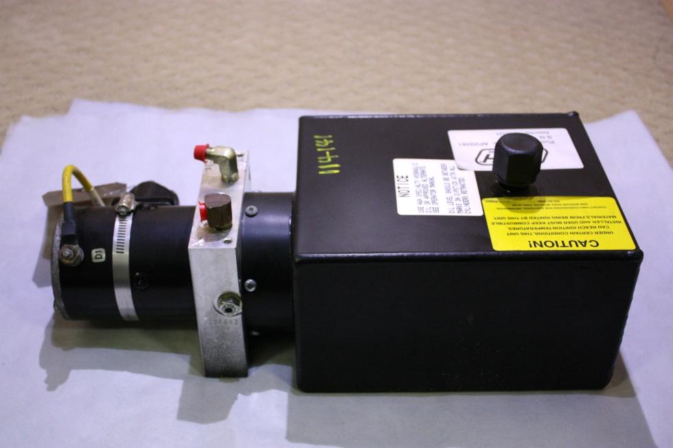 USED RV/MOTORHOME HWH HYDRAULIC PUMP AP29281 FOR SALE RV Components