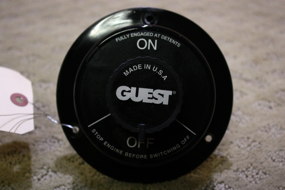 USED GUEST ENGINE CUT OFF SWITCH 2102 FOR SALE RV Components
