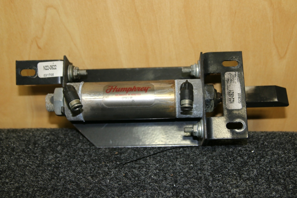 USED RV/MOTORHOME/CAMPER ENTRY/EXIT DOOR LOCK WITH HUMPHREY CYLINDER MODEL: CP9023A & MOUNTS RV Accessories