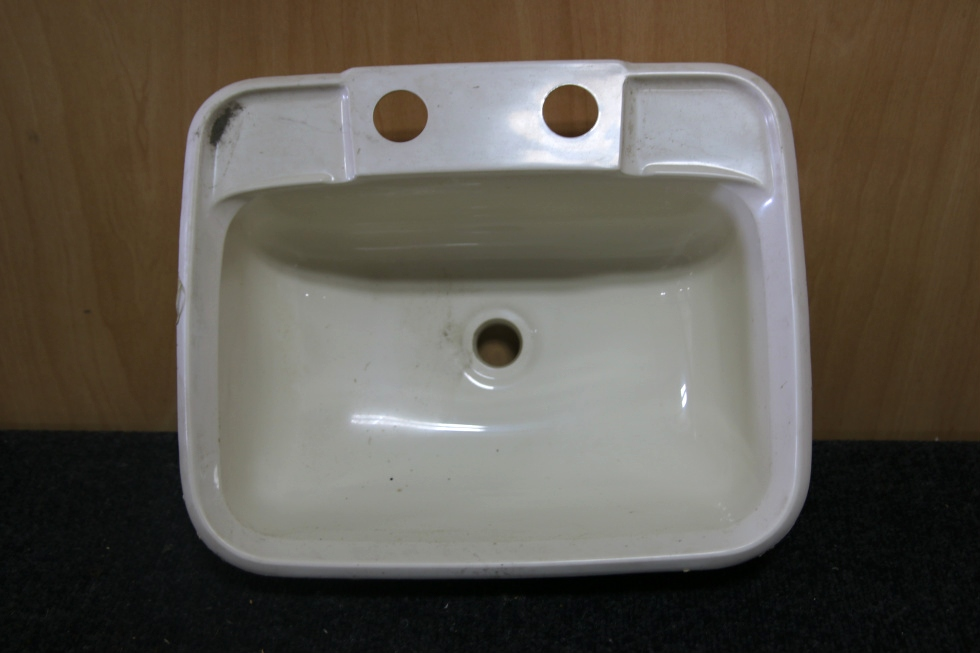 Acrylic Sink Manufacturers Mail: RV Accessories SMALL RV BATHROOM WHITE PLASTIC SINK SIZE