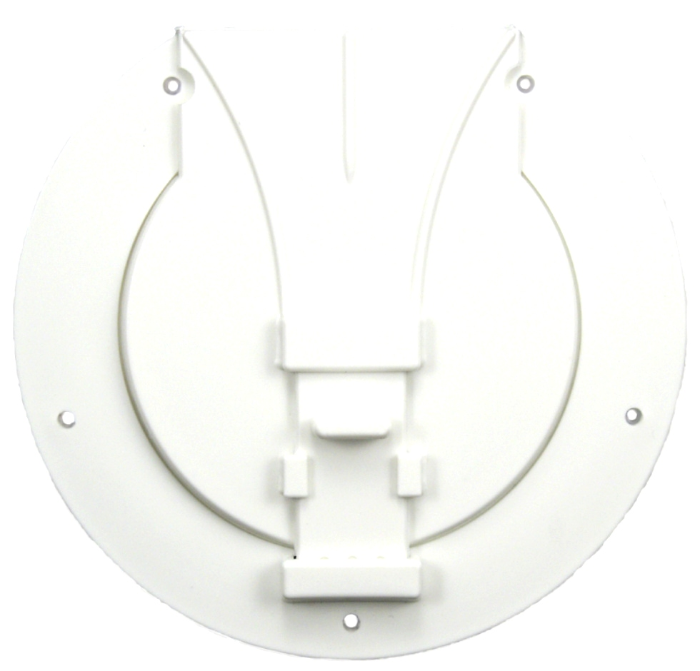 NEW JR PRODUCTS UTILITY/POLE STORAGE ACCESS HATCH POLAR WHITE P{N: S-25-10-A RV Accessories