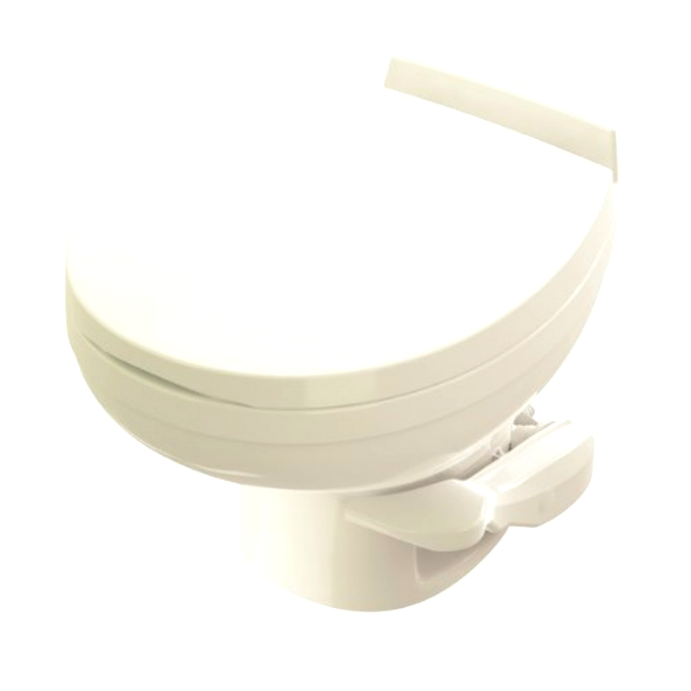 NEW RV/MOTORHOME RESIDENCE LOW PROFILE TOILET PN: 42172 | BONE WHITE RV Accessories