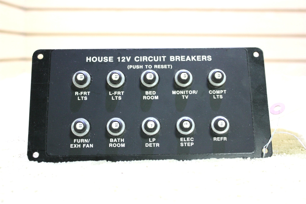 USED HOUSE 12V CIRCUIT BREAKERS FOR SALE RV Accessories